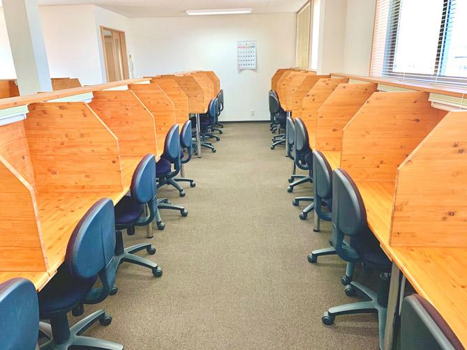 みらい高校オンラインの自習室